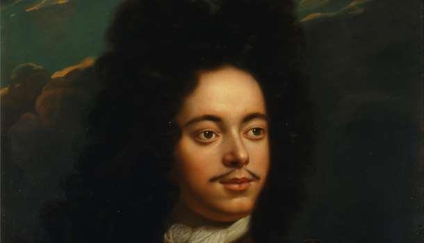 Портрет молодого Петра I