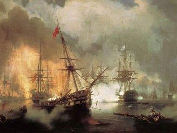 Последнее крупное сражение парусников: англичане назвали его  Синопской резней