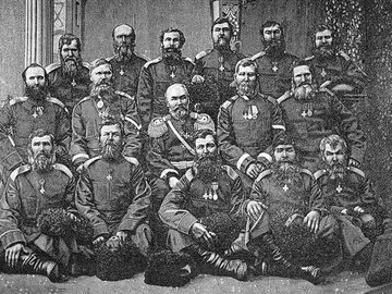 Бой есаула Серова: сотня против десяти тысяч
