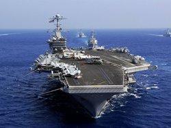 Китай не пустил в Гонконг американский авианосец