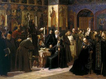 Почему Соловецкий монастырь восстал против  тишайшего  царя Алексея