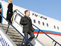 Президент Медведев летал на аварийном самолете Ту-214 с бракованными шасси