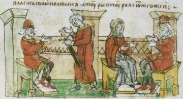 Повесть о Святохне: эпизод древнерусской  игры престолов