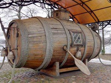 Потаенное судно : как Петр I велел построить подлодку и что из этого вышло