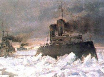 Ледовый поход : за что расстреляли спасителя Балтийского флота