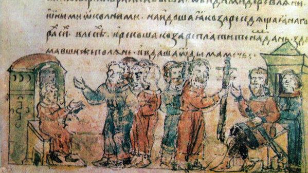 Как арабы вынудили хазар обратить внимание на славян