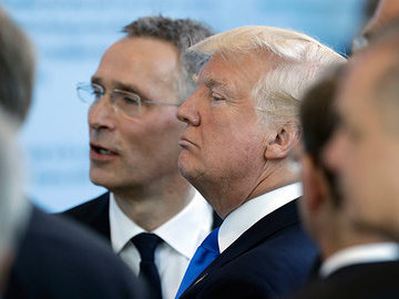 На грани грубости: Трамп неприятно удивил союзников по НАТО