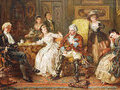 Как служба в России спасла барона Мюнхгаузена от проблем с французами