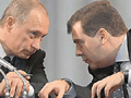 Медведев так и остался в тени Путина