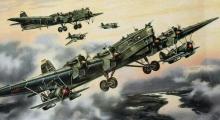 """Проект """"Звено"""": воздушные авианосцы советских ВВС"""
